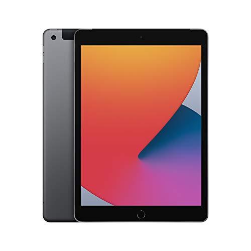 2020 Apple iPad (10.2-inch, Wi-Fi + Cellular, 32GB) - Space Gray (8th Generation)