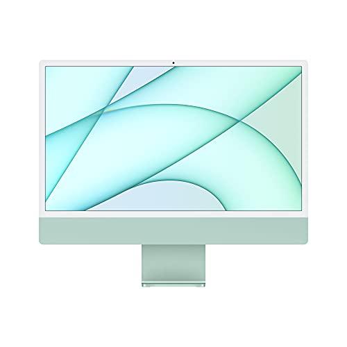 2021 Apple iMac (24-inch, Apple M1 chip with 8‑core CPU and 8‑core GPU, 8GB RAM, 256GB) - Green