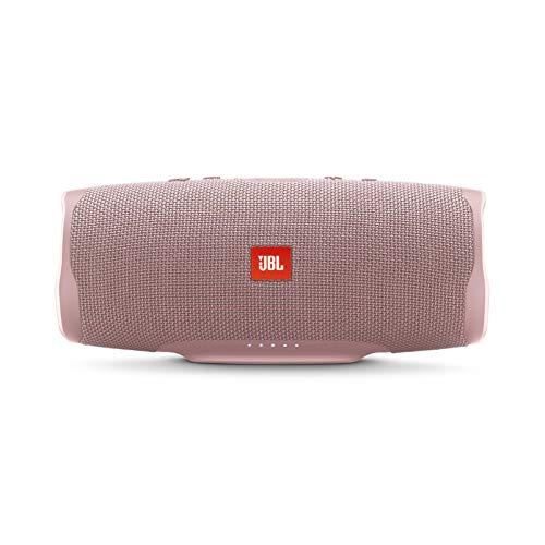 JBL Charge 4 Portable Waterproof Wireless Bluetooth Speaker - Pink (JBLCHARGE4PINKAM)