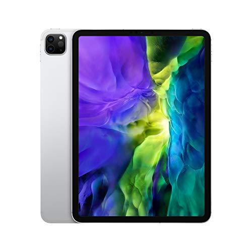 2020 Apple iPad Pro (11-inch, Wi-Fi + Cellular, 256GB) - Silver (2nd Generation)