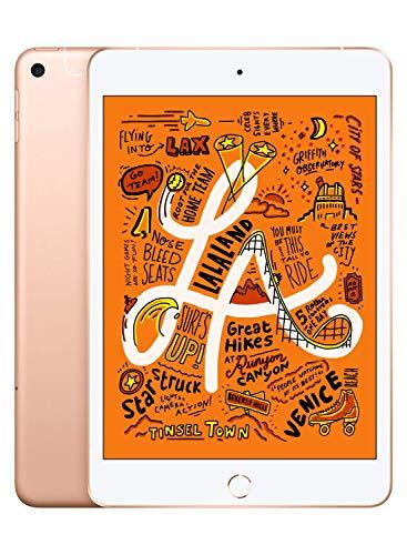 2019 Apple iPad Mini (Wi-Fi + Cellular, 64GB) - Gold