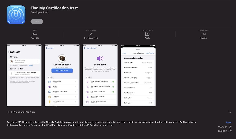 Find My Certification Asst App