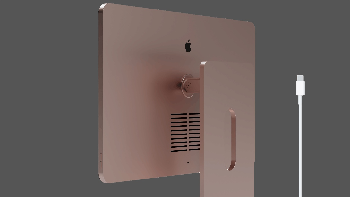 iMac Concept inspired by iPad and Pro Display XDR