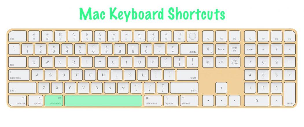 11 most useful Mac keyboard shortcuts | Command + Spacebar