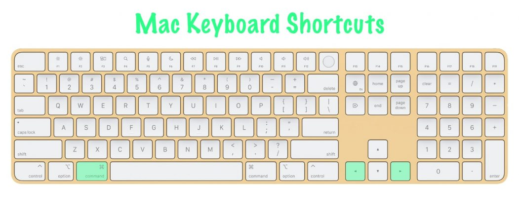 11 most useful Mac keyboard shortcuts | Forward / Backwards in Safari | Command-left/right arrows