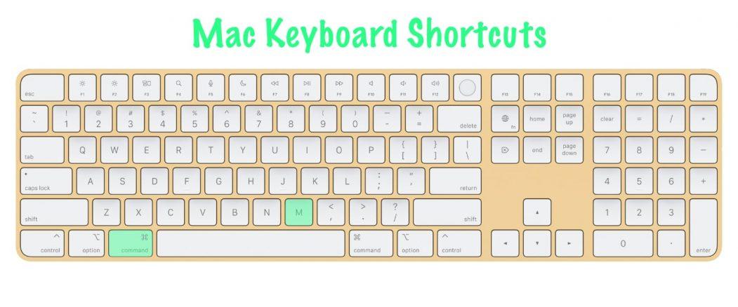 11 most useful Mac keyboard shortcuts | Minimize Active Window | Command + M