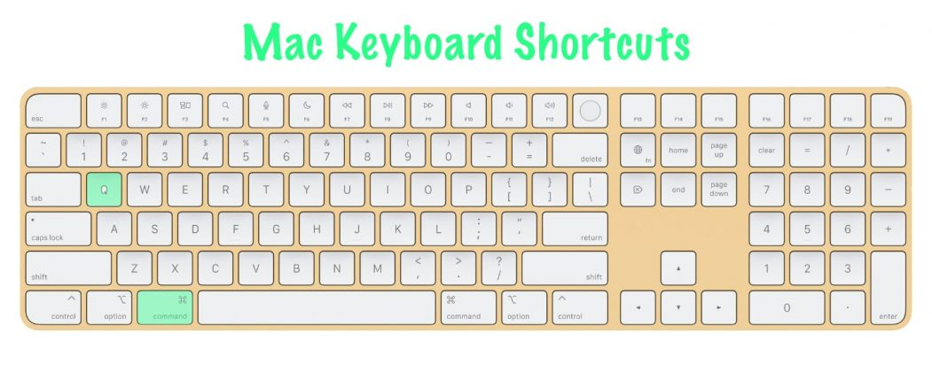 11 most useful Mac keyboard shortcuts | Quit Active Application | Command + Q