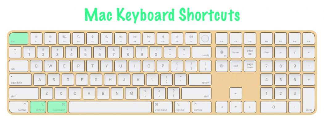11 most useful Mac keyboard shortcuts | Force Quit Application | Option + Command + Esc