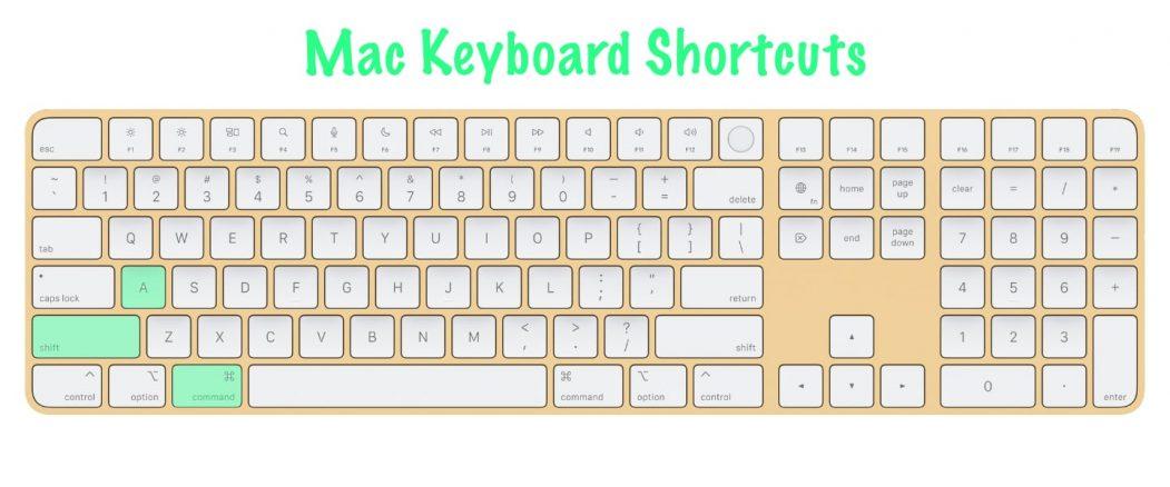 11 most useful Mac keyboard shortcuts | Open Applications folder | Command+Shift+A