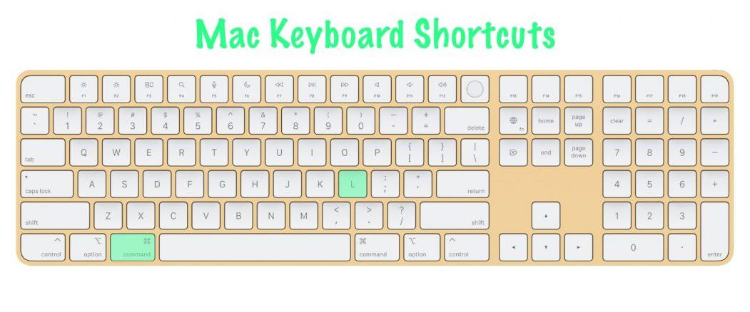 11 most useful Mac keyboard shortcuts | Safari Search Bar / Address Bar | Command + L