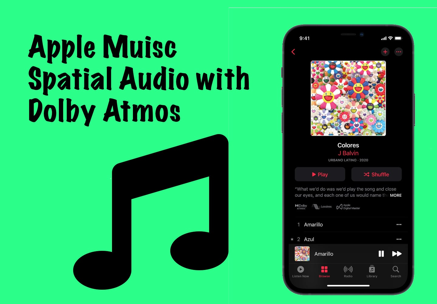 Apple Music Spatial Audio,Apple Music Spatial Audio and Lossless Audio