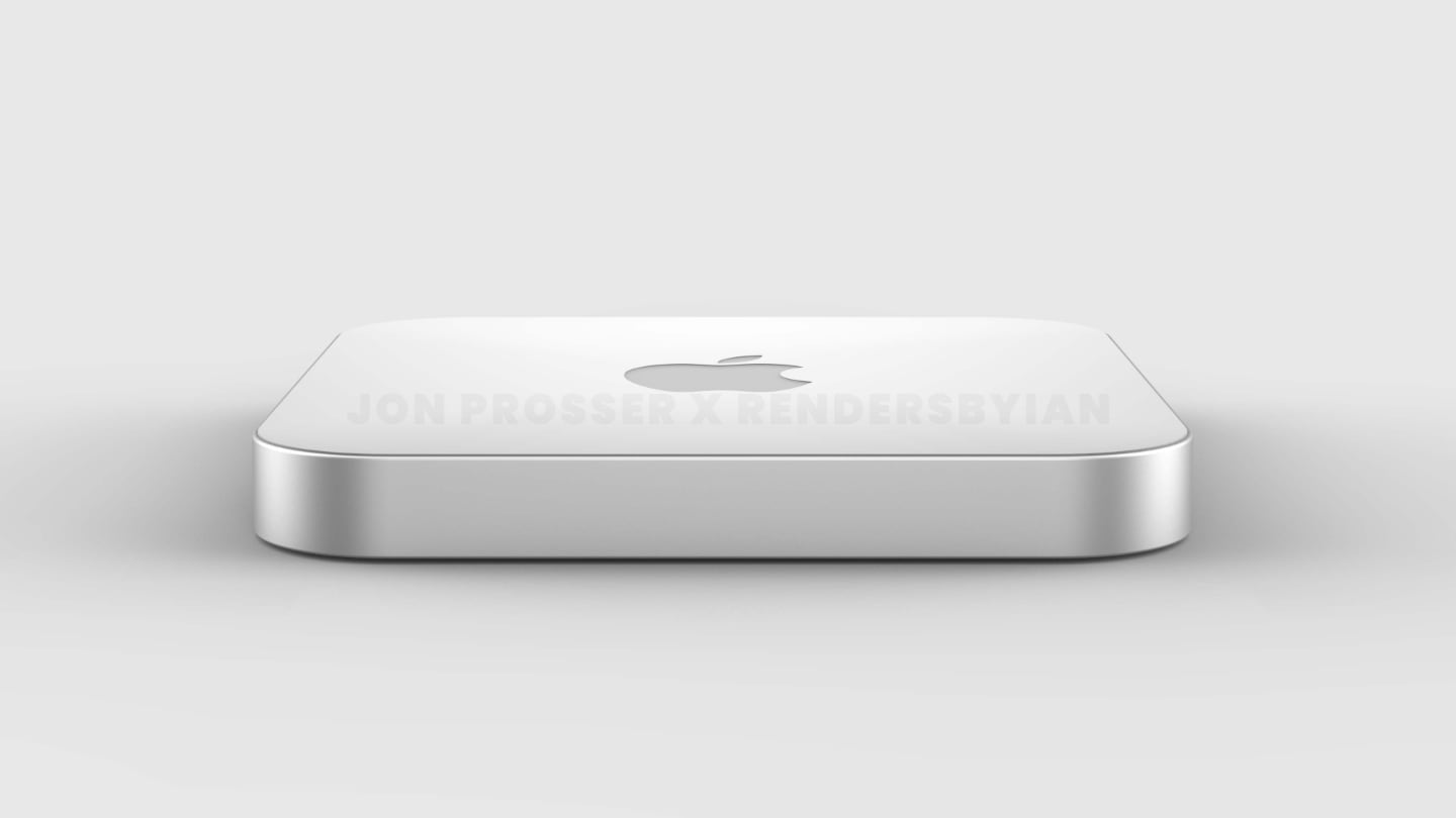 New High-End Mac Mini with Thinner Design