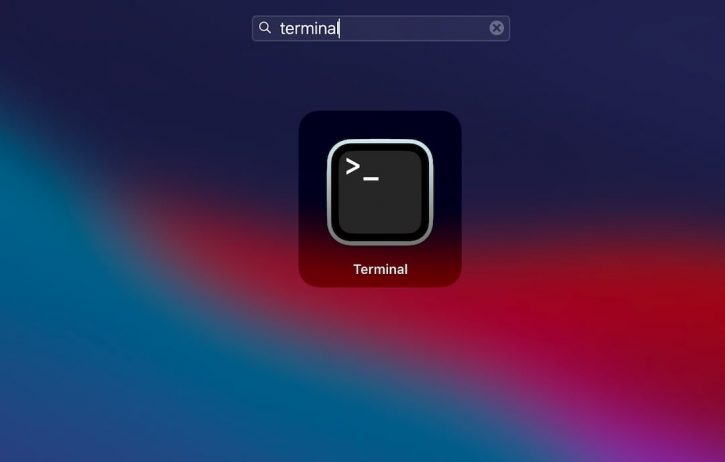 How to Open Terminal on Mac from the Launchpad